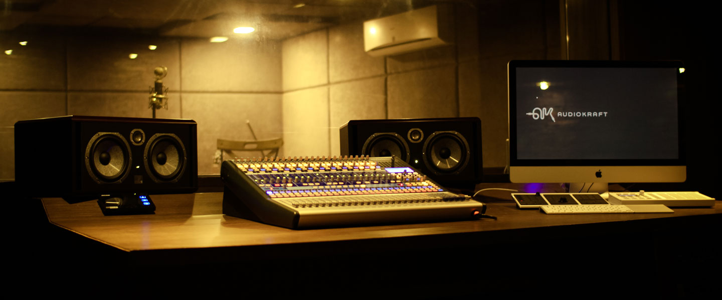 Outstanding Audiokraft Studios Audio Recording Music Production Studio And Largest Home Design Picture Inspirations Pitcheantrous